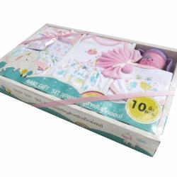 Baby Gift Set 10 PCS. Pink
