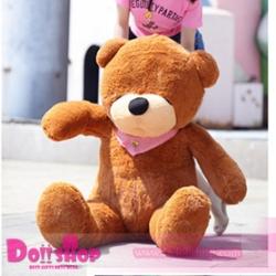 ตุ๊กตาหมีหลับ brown 1.2 เมตร