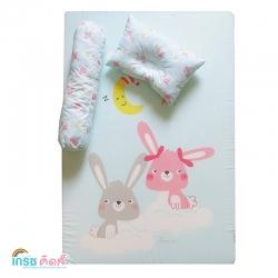 GRACE KIDS ที่นอนฟองน้ำ Sleeping Rabbit ขนาด M ยกลัง(2 ชุด)