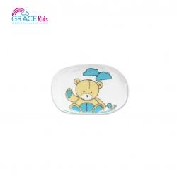 เกรซคิดส์ฟองน้ำอาบน้ำเด็ก หุ้มผ้าขนหนู ลายหมี คละสี
