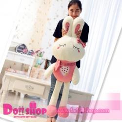 ตุ๊กตากระต่าย ชมพู 1.2 เมตร