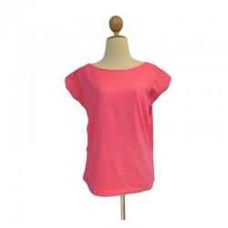 เกรซคิดส์เสื้อให้นมคอวี เปิดด้านข้าง สีชมพูเข้ม ยกลัง(4 ชิ้น)