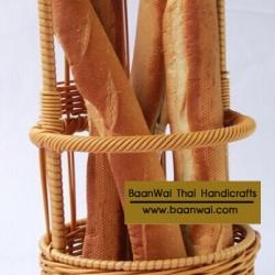 ตะกร้าขนมปัง ตะกร้าใส่ขนมปังฝรั่งเศส