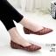 รองเท้าคัทชู ส้นแบน สไตล์ซาร่าห์ ทรงหัวแหลม ประดับคลิสตัลทั้งตัวสวยหรู หนังนิ่ม ทรงสวย ใส่สบาย แมทสวยได้ทุกชุด (10199) thumbnail 2