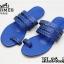 รองเท้าแตะแฟชั่น แบบสวมนิ้วโป้ง แต่งลายฉลุสวยเก๋สไตล์แอร์เมส หนังนิ่ม ทรงสวย ใส่สบาย แมทสวยได้ทุกชุด (FT-618) thumbnail 2