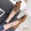 รองเท้าคัทชู ส้นแบน หนังสักหราดแต่งลายผึ้งปักสวยเรียบหรูสไตล์แบรนด์ หนังนิ่ม ทรงสวย ใส่สบาย แมทสวยได้ทุกชุด (2015-247) thumbnail 1