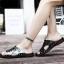 พรีออเดอร์ รองเท้า เบอร์ 38 - 48 แฟชั่นเกาหลีสำหรับผู้ชายไซส์ใหญ่ เก๋ เท่ห์ - Preorder Large Size Men Korean Hitz Sandal thumbnail 5