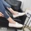 รองเท้าคัทชู ทรง slip on แต่งลายเสือสไตล์เคนโซ่ หนังนิ่ม พื้นนิ่ม งานสวย ใส่สบาย แมทสวยได้ทุกชุด (319-1247) thumbnail 2