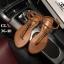 รองเท้าแตะแฟชั่น แบบหนีบ รัดส้น แต่งโซ่ ดีไซน์เปลือยเท้าสวยเก๋ไฮโซสไตล์ชาแนล หนังนิ่ม ทรงสวย ใส่สบาย แมทสวยได้ทุกชุด (FT-125) thumbnail 1