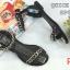 รองเท้าแตะแฟชั่น แบบสวม รัดข้อ แต่งโซ่สวยเก๋สไตล์แบรนด์ หนังนิ่ม งานสวย ใส่สบาย แมทสวยได้ทุกชุด (SP619) thumbnail 2