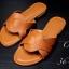 รองเท้าแตะแฟชั่น แบบสวม แต่งลายสวยเก๋สไตล์แอร์เมส หนังนิ่ม ทรงสวย ใส่สบาย แมทสวยได้ทุกชุด thumbnail 1