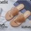 รองเท้าแตะแฟชั่น แบบหนีบ แต่งฉลุลายสวยเรียบเก๋สไตล์แอร์เมส หนังนิ่ม งานสวย ใส่สบาย แมทสวยได้ทุกชุด thumbnail 1