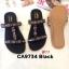 รองเท้าแตะแฟชั่น แบบสวม แต่งอะไหล่ลูกปัดสไตล์โบฮีเมี่ยมสวยเก๋ หนังนิ่ม พื้นนิ่ม ทรงสวย ใส่สบาย แมทสวยได้ทุกชุด (CA9734) thumbnail 1