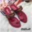 รองเท้าแตะแฟชั่น แบบสวมนิ้วโป้ง แต่งอะไหล่สไตล์กุชชี่สวยเก๋ หนังนิ่ม พื้นนิ่ม ทรงสวย ใส่สบาย แมทสวยได้ทุกชุด thumbnail 1