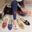 รองเท้าแตะแฟชั่น แบบสวม คาดหน้า H หนังลายหนังงูแต่งอะไหล่สไตล์แอร์เมสสวยหรู ใส่สบาย แมทสวยได้ทุกชุด (J341) thumbnail 2