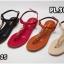 รองเท้าแตะแฟชั่น แบบหนีบ รัดส้น แต่งโซ่ ดีไซน์เปลือยเท้าสวยเก๋ไฮโซสไตล์ชาแนล หนังนิ่ม ทรงสวย ใส่สบาย แมทสวยได้ทุกชุด (FT-125) thumbnail 6