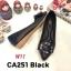 รองเท้าคัทชู ส้นแบน แต่งอะไหล่สวยหรู หนังนิ่ม ทรงสวย ใส่สบาย แมทสวยได้ทุกชุด (CA251) thumbnail 1