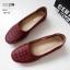 รองเท้าคัทชู ส้นเตี้ย สไตล์ Loafer ที่หนังนิ่มที่สุด พื้นบุนวมซัพพอร์ทอุ้งเท้า ลายใหม่ ใส่สบาย หนังนิ่ม ทรงสวย สูงประมาณ 1 นิ้ว ใส่สบาย แมทสวยได้ทุกชุด (10192) thumbnail 3