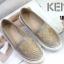รองเท้าคัทชู ทรง slip on ปักหน้าเสือสไตล์เคนโซ่สวยเก๋ ทรงสวยเรียบเก๋ หนังนิ่ม ใส่สบาย แมทสวยได้ทุกชุด (168-341) thumbnail 1