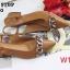 รองเท้าคัทชูุ ส้นเตี้ย รัดส้น แต่งโซ่สวยหรูสไตล์แบรนด์ หนังนิ่ม ทรงสวย ส้นตัดสูงประมาณ 1.5 นิ้ว ใส่สบาย แมทสวยได้ทุกชุด (GV2100) thumbnail 2