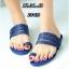 รองเท้าแตะแฟชั่น แบบสวมนิ้วโป้ง แต่งลายฉลุสวยเก๋สไตล์แอร์เมส หนังนิ่ม ทรงสวย ใส่สบาย แมทสวยได้ทุกชุด (FT-618) thumbnail 1