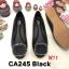 รองเท้าคัทชู ส้นแบน แต่งอะไหล่สวยหรู หนังนิ่ม ทรงสวย ใส่สบาย แมทสวยได้ทุกชุด (CA245) thumbnail 1
