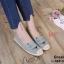 รองเท้าคัทชู ทรง slip on แต่งลายหน้าแมวสวยเก๋น่ารัก ขอบแต่งเชือกถักสไตล์วินเทจ หนังนิ่ม ทรงสวย ใส่สบาย แมทสวยได้ทุกชุด (L-345-380) thumbnail 1