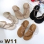 รองเท้าแตะแฟชั่น แบบสวมนิ้วโป้ง แต่งอะไหล่สวยหรู หนังนิ่ม ทรงสวย ใส่สบาย แมทสวยได้ทุกชุด (B331-20) thumbnail 2