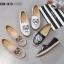 รองเท้าคัทชู ทรง slip on แต่งลายเสือสไตล์เคนโซ่ หนังนิ่ม พื้นนิ่ม งานสวย ใส่สบาย แมทสวยได้ทุกชุด (L-338-913) thumbnail 5