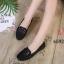 รองเท้าคัทชู ทรง loafer ส้นแบน แต่งอะไหล่สวยเรียบเก๋ หนังนิ่ม พื้นนิ่ม ทรงสวย ใส่สบาย แมทสวยได้ทุกชุด (K5924) thumbnail 2