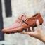 พรีออเดอร์ รองเท้า เบอร์ 38 - 47 แฟชั่นเกาหลีสำหรับผู้ชายไซส์ใหญ่ เก๋ เท่ห์ - Preorder Large Size Men Korean Hitz Sandal thumbnail 5