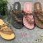 รองเท้าแตะแฟชั่น แบบสวมนิ้วโป้งคาดเฉียง แต่งลูกปัดสไตล์โบฮีเมียนสวยเก๋ หนังนิ่ม พื้นนิ่มทรงสวย ใส่สบาย แมทสวยได้ทุกชุด (418-82) thumbnail 1