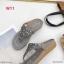 รองเท้าแตะแฟชั่น แบบหนีบ แต่งอะไหล่ดอกไม้เพชรสวยหวาน หนังนิ่ม พื้นนิ่ม ทรงสวย ใส่สบาย แมทสวยได้ทุกชุด (9018-10) thumbnail 5