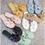 รองเท้าแตะแฟชั่น แบบสวม แต่งหน้า H สไตล์แอร์เมสสวยเรียบหรู หนังนิ่ม ทรงสวย ใส่สบาย แมทสวยได้ทุกชุด (G5-29) thumbnail 1