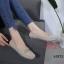 รองเท้าคัทชู ทรง loafer แต่งอะไหล่สไตล์แบรนด์สวยเรียบเก๋ หนังนิ่ม พื้นนิ่ม ทรงสวย ใส่สบาย แมทสวยได้ทุกชุด (K5923) thumbnail 1