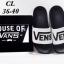 รองเท้าแตะแฟชั่น แบบสวม แต่งลายสไตล์ VANS สวยเก๋ วัสดุอย่างดี พื้นนิ่ม หนังนิ่ม ใส่สบายมาก แมทสวยได้ทุกชุด thumbnail 3