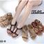 รองเท้าแตะแฟชั่น รัดส้น แบบหนีบ แต่งลูกปัดดอกไม้สวยน่ารัก หนังนิ่ม รัดส้นยางยืดนิ่ม ทรงสวย ใส่สบาย แมทสวยได้ทุกชุด (B622-8) thumbnail 3
