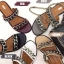 รองเท้าแตะแฟชั่น แบบสวม แต่งโซ่สวยเก๋สไตล์แบรนด์ หนังนิ่ม ทรงสวย ใส่สบาย แมทสวยได้ทุกชุด (A305) thumbnail 2
