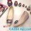 รองเท้าคัทชู ส้นเตารีด แต่งอะไหล่สวยหรู หนังนิ่ม ทรงสวย สูงประมาณ 2 นิ้ว ใส่สบาย แมทสวยได้ทุกชุด (CA282) thumbnail 1