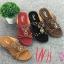 รองเท้าแตะแฟชั่น แบบสวม แต่งลูกปัดสไตล์โบฮีเมียนสวยเก๋ หนังนิ่ม พื้นนิ่ม งานสวย ใส่สบาย แมทสวยได้ทุกชุด (318-13) thumbnail 1
