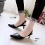 รองเท้าคัทชู ส้นเตี้ย รัดส้น หัวแหลม หนังนิ่ม สไตล์ ZARA สวยชนช็อป สูง 2 นิ้ว น้ำหนักเบา แมทกับชุดไหนก็ง่าย งานขายดีใส่ได้ไม่มีเอาท์ แมทสวยได้ทุกชุด (G24-07) thumbnail 1