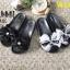 รองเท้าแตะแฟชั่น แบบสวม ส้นมัฟฟิน แต่งโบว์ใหญ่ลายสวยเก๋น่ารัก ขอบแต่งหมุดสวยเก๋ หนังนิ่ม ทรงสวย ใส่สบาย แมทสวยได้ทุกชุด (MK226) thumbnail 4