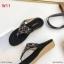 รองเท้าแตะแฟชั่น แบบหนีบ แต่งอะไหล่ดอกไม้เพชรสวยหวาน หนังนิ่ม พื้นนิ่ม ทรงสวย ใส่สบาย แมทสวยได้ทุกชุด (9018-10) thumbnail 3