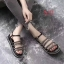 รองเท้าแตะแฟชั่น ส้นมัฟฟิน รัดส้น แบบสวม ดีไซน์หนังเส้นแต่งโซ่สวยเก๋ หนังนิ่ม ทรงสวย ใส่สบาย แมทสวยได้ทุกชุด thumbnail 1