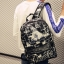 กระเป๋าเป้สะพายหลังสารพัดประโยชน์ สวย ทน เท่ห์ คุณภาพชั้นนำเป็นที่ยอมรับระดับสากล Good quality version of the shoulder bag male Korean version of the backpack men fashion trend thumbnail 1