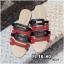 รองเท้าแตะแฟชั่น แบบสวม แต่งหนังสลับสีสไตล์แอร์เมสสุดเก๋ หนังนิ่ม ทรงสวย ใส่สบายมาก แมทสวยได้ทุกชุด (MR24) thumbnail 1