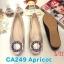 รองเท้าคัทชู ส้นแบน แต่งอะไหล่สวยหรู หนังนิ่ม ทรงสวย ใส่สบาย แมทสวยได้ทุกชุด (CA249) thumbnail 1