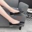 รองเท้าคัทชู ส้นแบน ทรงหัวตัด ดีไซน์สวยเรียบเก๋ หนังนิ่ม ทรงสวย ใส่สบาย แมทสวยได้ทุกชุด (K6001) thumbnail 2
