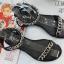 รองเท้าแตะแฟชั่น แบบสวม รัดข้อ แต่งโซ่สวยเก๋สไตล์แบรนด์ หนังนิ่ม งานสวย ใส่สบาย แมทสวยได้ทุกชุด (SP619) thumbnail 1