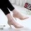 รองเท้าคัทชู ส้นเตี้ย รัดส้น หนังนิ่มฉลุลาย ใส่สบาย หนัง pu รุ่นนี้เกรดเอ นิ่มยืดหยุ่นดีมาก ใส่แล้วเท้าเรียว ทรงสวย สูงประมาณ 2.5 นิ้ว ใส่สบาย แมทสวยได้ทุกชุด (10200) thumbnail 2